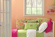 DREAM DORM ROOM / My Lilly Pulitzer, Garnet Hill & Urban Outfitters inspired dorm room! / by Allie Waller