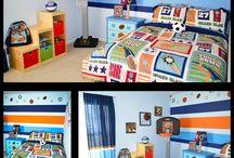 Boys' bedroom ideas / by Samantha Taylor