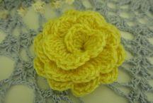 Crochet Flowers and Appliqués  / by Melissa Watson