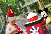 fMickey Mouse 1st birthday / by Alisha Tucker