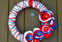 Crafting Wreaths / by Bethany Hart