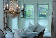 Cottage Living / The Cozy Life of Cottage Living Rooms / by Andrea Tankersley