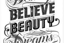 Typography - Inspirations / by Naomi Chokr