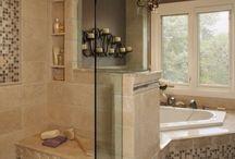 Master Bath / by Gayla Leathers