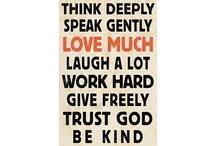 Words / by Donna SewAmazin