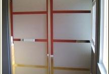 Closet door ideas/bedrm ideas / by Tami Furth