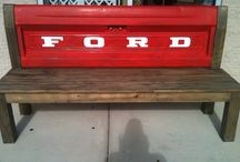 My Tailgate Benches / by Janice Jones King