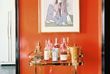 Bar areas for the home / Bar carts, coffee bars, wet bars, and tea time stuff / by Camden Watts