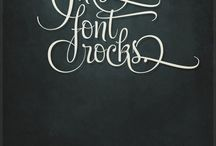 fonts / by Kay Smith