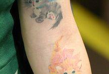 Cat Tattoos / by catsparella