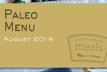Paleo August 2014 Freezer Menu / by Once A Month Meals