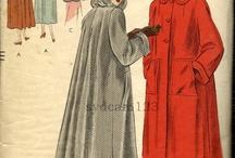 Vintage Coat Patterns / by Ruth Zahler