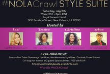 #NolaCrawl 2014 with Ford Motor Company #FordUp / Experience the 2014 #EssenceFest with bloggers Jessica of GlamazonsBlog.com, Christina of LoveBrownSugar.com, Lexi of LexiWithTheCurls.com and Sekou of SimplyRides.com through the second annual #NolaCrawl. Follow our hashtags #NolaCrawl and #FordUp for exclusive coverage of the hottest events, including a Style Suite day party of our own, brought to you by Ford Motor Company. See you in #NewOrleans! / by Jessica C. Andrews