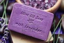 SOAPS  ~  Scented  ~  Handmade / Scented soaps can be used as a room freshner all over the home. Also it can be used in your dresser drawers to keep your clothes smelling good and in your closet too.  Many beautiful colors and designs and fragrances. / by Josie Conde