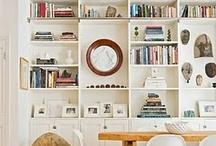 bookshelves / by Kirsten Nieman @ Restored Style