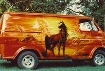 Boogie Vans / 70s vans / by Abe Lincoln Jr.