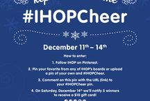 10 Days of #IHOPCheer  / Get in the holiday spirit with IHOP's 10 Days of #IHOPCheer celebration! Now until Saturday, Dec. 14th enter for your chance to win! Official rules: http://ihop.com/legal/10-days-of-IHOPCheer-Rules  / by IHOP