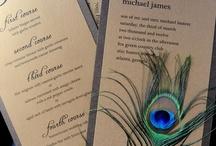 Peacock Wedding-Concept / by Emma + Josh