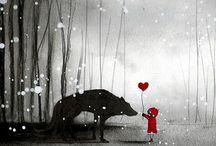 little red riding hood / by Fabiana Zanetti