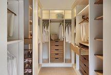 Walk In Wardrobe / Design inspiration for walk-in / by Little Bennet