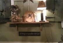 Primitive decor / by Jennifer Lawson