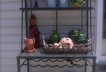 shabby chic outdoors / by Pam Taylor