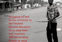 Central African Republic (CAR) / by Enough Project