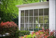porches, decks and sunrooms / by Marnie Masterson