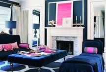 Pink & Navy  / by Online Interior Design