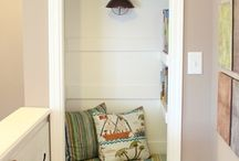 Nifty Little Nooks and Crannies / by InspireJuice For Janice