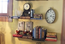 """Book shelves""  / by Lori Lewis"