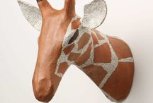 Papier Mache, Clay and other 3D stuff / scuplture, 3d forms / by Julie Lawrence