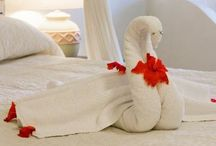 Towel Origami / by Betty Brooks