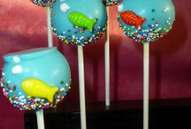 cake pops / by Nicole Thibeault Merry