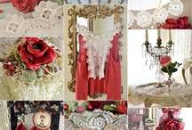 A Love For Shabby Chic 5~Collages / by Teresa Noah-Brown