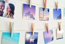 Creative Ideas For Photo Displays / Inspiring ideas and inventive ways to remember, share and display prints around the home. / by Bright.Bazaar /