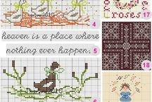 cross stitch / by Helga Mackey-Fardon