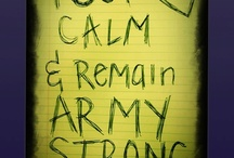 army strong / by Amy Riordan