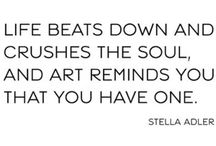 Art Quotes / by Mary Simmons Deaf Art