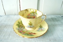 elegant  tea cups and china / by Christina Brown