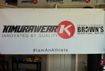 Banners / Banners that we have made for gyms who use our equipment / by Kimurawear - MMA & Fitness