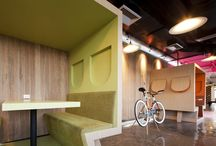 The Next Office / Gathering ideas large and small for a new office space.  / by Alex Jones