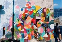 Grafitis y arte callejero / by Cecilia Koppmann