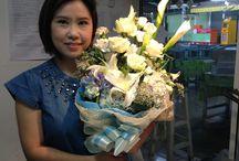 My flower arrangement / My flower arrangement  / by Orapak Suwanapakdee