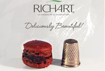 Fashion Week mini French macarons / We had to choose between too many beautiful pictures of our mini French macarons... so here they are, enjoy! / by Richart Chocolates