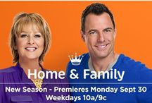 HOME & FAMILY - Season 2! / Mark & Cristina are back with more fun, more food & more family! WATCH weekdays 10a/9c only on Hallmark Channel / by Hallmark Channel