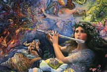 Josephine Wall / Love her artwork. Have it in puzzles all over my house / by Melissa Ahlswede