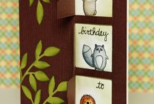 cards with creatures..owl's.and others / by Jet Quiltster