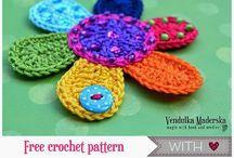 Crochet-3: Crochet Flower & Appliques / by Aphodite Sejuti
