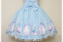 Loli wishlist... / Actual pieces, and also includes dresses I want to re-create with my sewing machine!  / by Heathy ♥